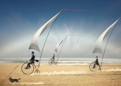 FIAP Ribbon/Races behind Wind - Mikhail Bondar (Ukraine)