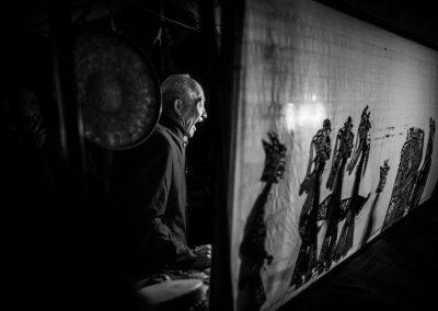 《皮影艺人》 / Yushan Li 李玉山 / China