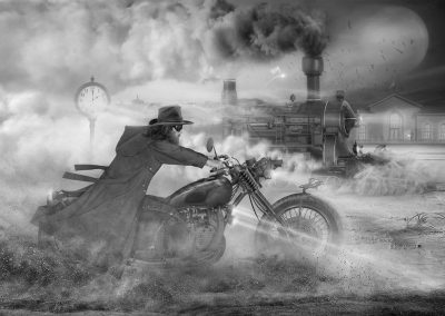 Races behind Wind -17 / Mikhail Bondar / Ukraine